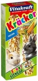 VITAKRAFT konijn kracker popcorn 2 in 1