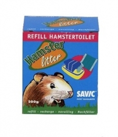 SAVIC hamstertoilet navulling 500 GR