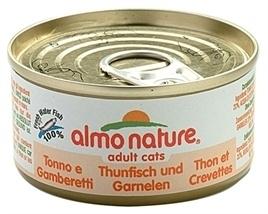 ALMO nature cat tonijn / garnalen 70 GR