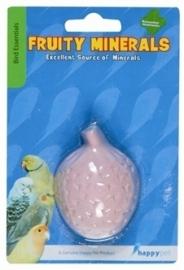 HAPPY pet fruity mineral strawberry bird 300 GR 6,5X4,5X2,5 CM