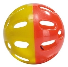KNAAGDIER jingle bal plastic assorti