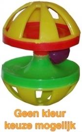 PLASTIC knaagdierspeelgoed met bel
