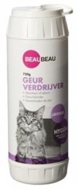 BEAU beau kattenbak geurverdrijver lavendel 750 GR