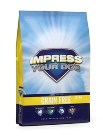 Impress Your Dog Grain Free  zak á 12,5 kg