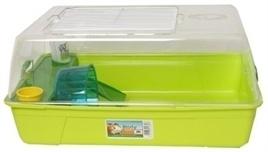 SAVIC rody hamsterkooi groen 55X39X26 CM