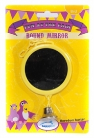 HAPPY pet fun at the fair round mirror 15X7,5X2 CM