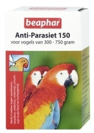 BEAPHAR anti-parasiet 150 vogel (300-750gr) 2 PIP