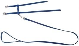KATTENTUIG + lijn suede blauw
