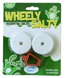 HAPPY pet wheely liksteen zout 5X5X2 CM