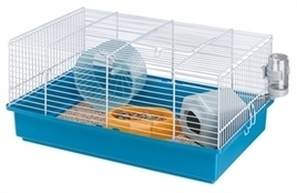 FERPLAST hamsterkooi criceti 9 blauw 46X29,5X22,5 CM