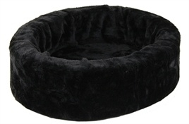 PETCOMFORT bontmand zwart  40 CM