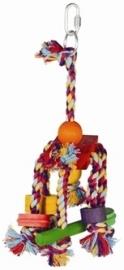 HAPPY pet speelgoed papegaai fiesta assorti 31X12X10 CM