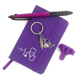 Schrijf & Blijf Set voor zorgprofessionals - PAARS