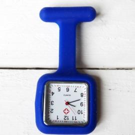 Nursewatch vierkant Blauw