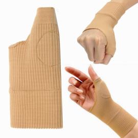 Pols hand & duimondersteuning soft met gelpad (2 stuks)