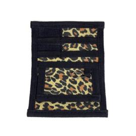Pocket Organizer Zorg - riemtasje Luipaard