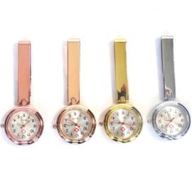 Luxe Verpleegster horloge moderne clip