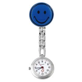 Verpleegstershorloge metal smile donkerblauw
