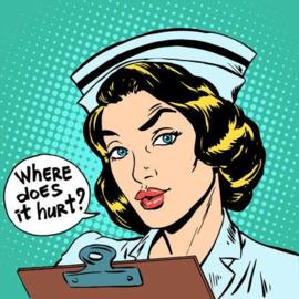 Verpleegkundige tas Pop-Art HURT