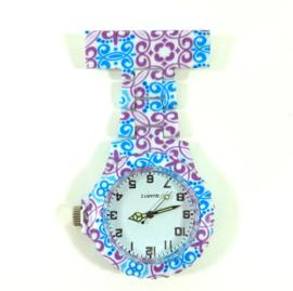 Verpleegkundige horloge schakel & print Lilly