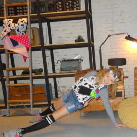 Kinder mitella - fashion girls