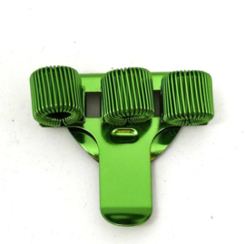 Pennenhouder clip (3 pennen) groen