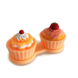 Cupcake Lenzendoosje zalm