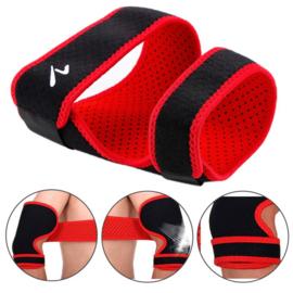 Tennis arm / Elleboog Brace Rood/zwart