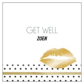 Cadeaukaartje: Get well Zoen