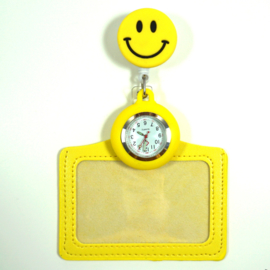 Funny Badge + Nursewatch Happy face