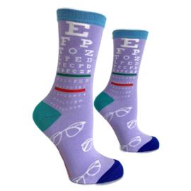 H2C Oogheelkunde -Opticien sokken - Snellenkaart