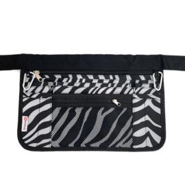 EXTRA LARGE zorgtas Zebra print
