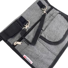 Heuptasje zorg  Large - Jeans grijs