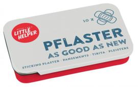 "Blikje pleisters klein ""As Good As New"""