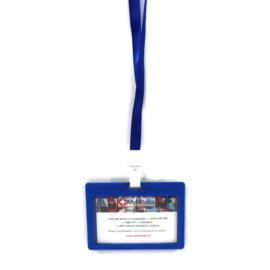 Badge + Lanyard Blauw