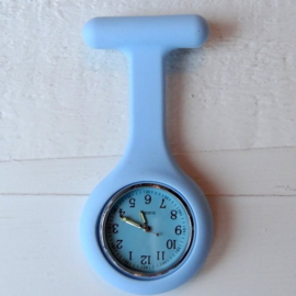 Verpleegstershorloge Ton Sur Ton Baby Blue