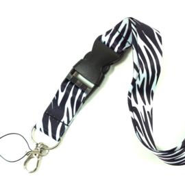 Lanyard - key cord - Zebra