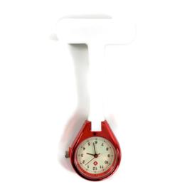Shine & style - Verpleegkundige horloge rood