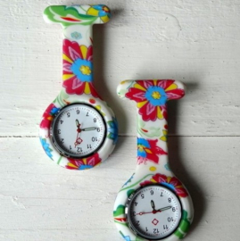 NURSEWATCH HAPPY FLOWER CLIP