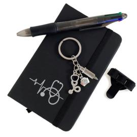 Schrijf & Blijf Set voor zorgprofessionals - ZWART