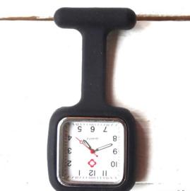 Nursewatch vierkant Zwart