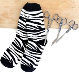 Zebraprint set - scharenset & sokken