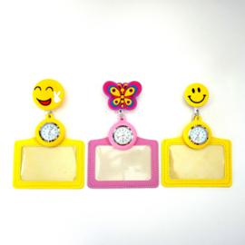 Funny Badge + Nursewatch Happy face