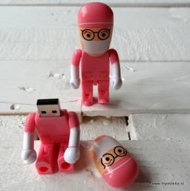 USB STICK ARTS PINK