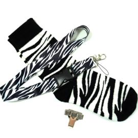 Zorggift Trendy dierenprint Zebra