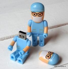 USB STICK ARTS BLAUW