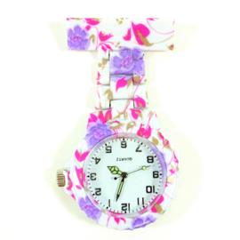 Verpleegkundige horloge schakel & print Iris