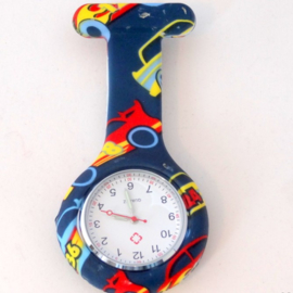 Verpleegkundige Horloge Clip - Racing Cars
