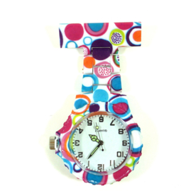 Verpleegkundige horloge schakel & print Circles