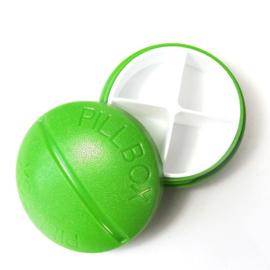 Pillendoosje PILL 4-vaks groen